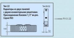 Радиатор Kermi FKO 22 500х400