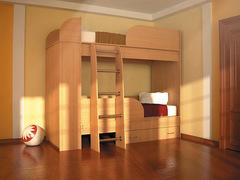 Детская 2-х ярусная кровать Дуэт-2