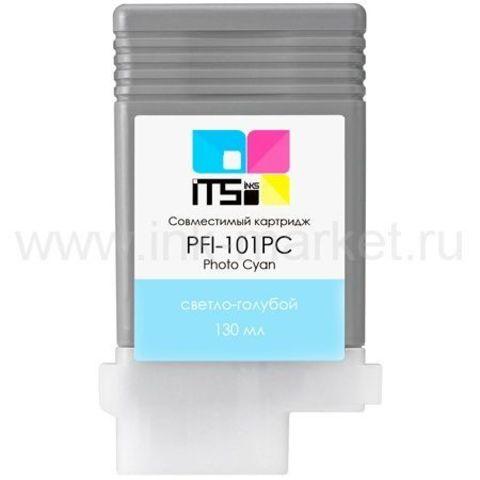 Совместимый картридж PFI-101PC для Canon imagePROGRAF 5000/6000S Photo Cyan Pigment, 130 мл (М0000004010)