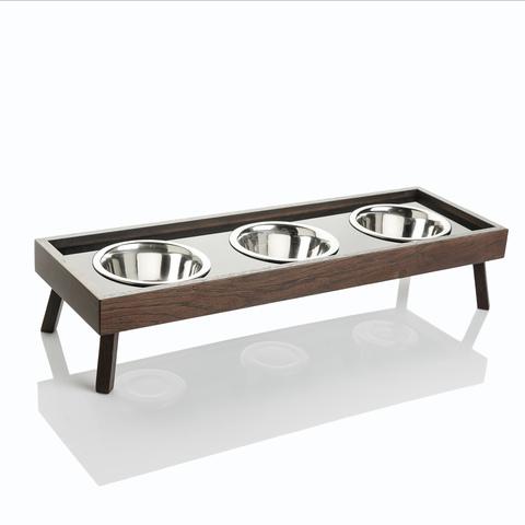 ELA тройная миска для собак