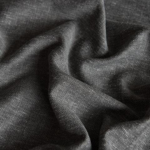 Ткань под лен Кенна черный