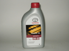 Масло Toyota Engine Oil 0w-30 1 литр