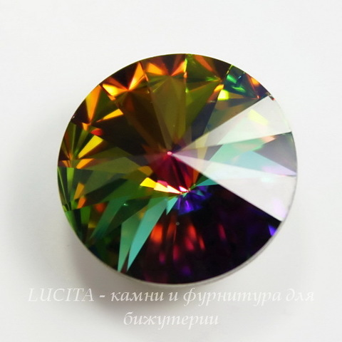 1122 Rivoli Ювелирные стразы Сваровски Crystal Vitrail Medium (18 мм)