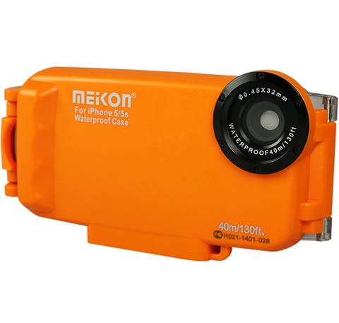 Подводный бокс Meikon для смартфона Apple iPhone 5 5C 5S Orange