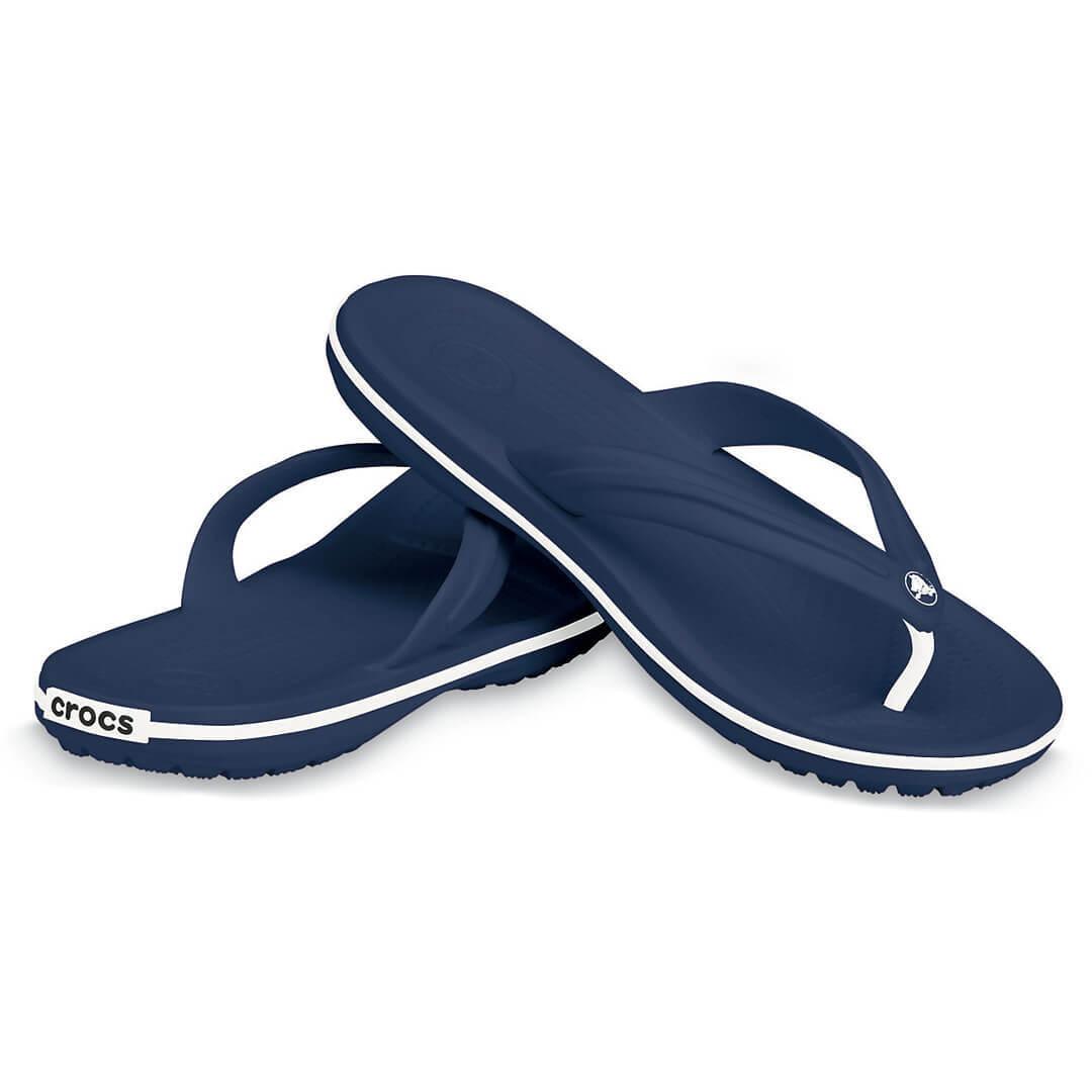 Шлепанцы Crocs Crocband Flip Синие