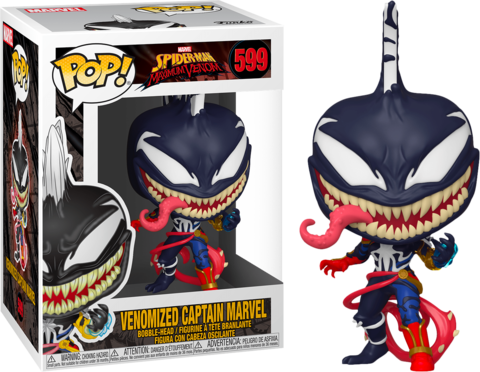 Venomized Captain Marvel Funko Pop! || Капитан-Марвел