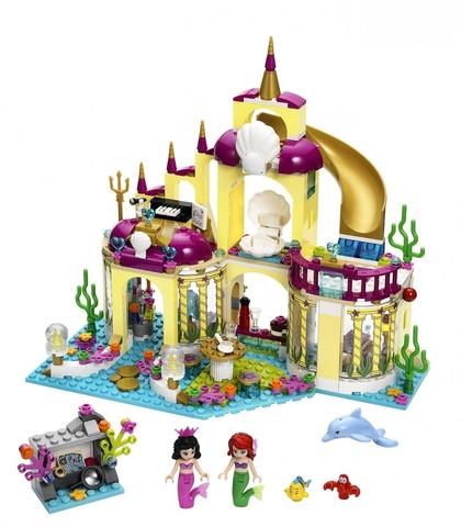 LEGO Disney Princess: Подводный дворец Ариэль 41063 — Ariel's Undersea Palace — Лего Принцесса Диснея