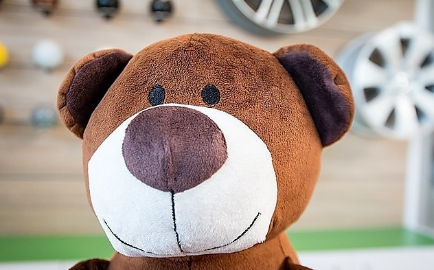 Мягкая игрушка Skoda Teddy Bear Kodiaq new stuffed circled eyes light brown teddy bear plush 180 cm doll 70 inch toy gift wb8703