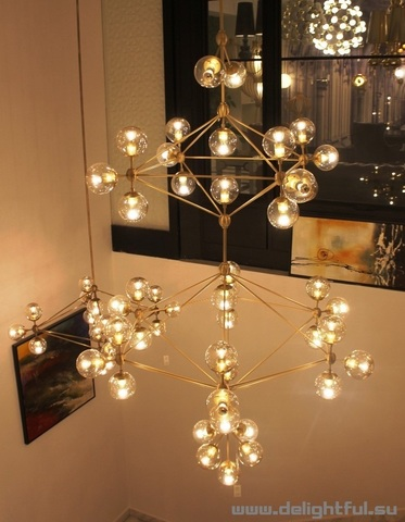 replica Modo Chandelier by ROLL and HILL ( light design)