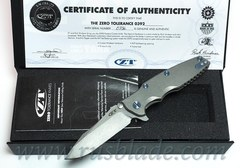 Zero Tolerance 0392 first edition Factory Custom