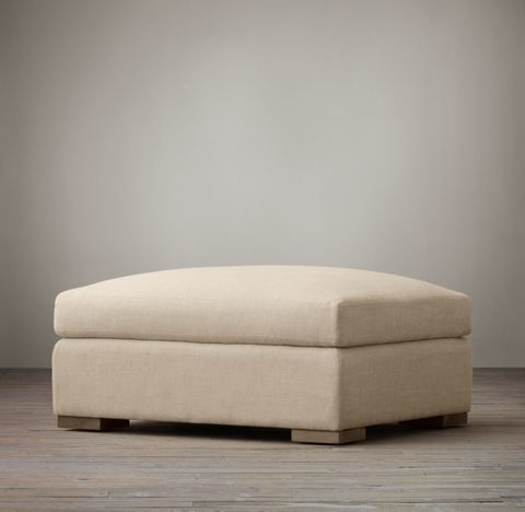 Belgian Classic Slope Arm Ottoman