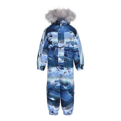 Комбинезон Molo Polaris Fur Arctic Landscape купить в интернет-магазине Мама Любит!