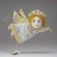 Сувенирная кукла - Ангел авторский