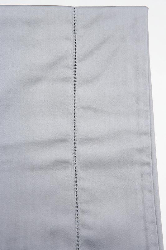 Простыня на резинке 160x200 Сaleffi Strech трикотаж серебристая