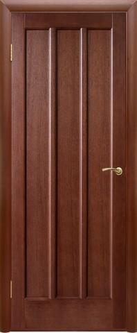 Дверь Двери Белоруссии Троя ПГ, цвет тёмный орех, глухая