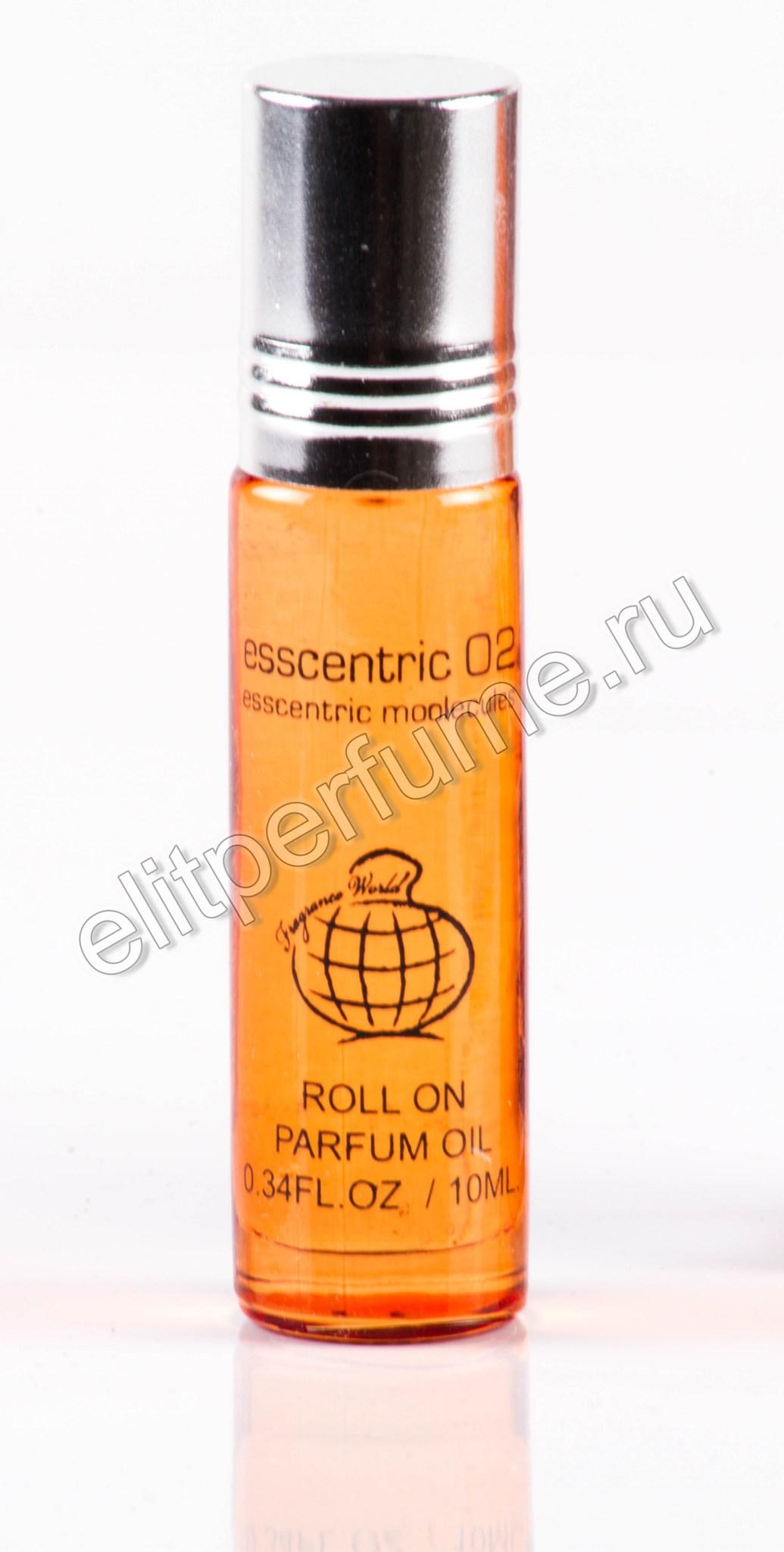 Esscentric 02 10 мл арабские масляные духи от Фрагранс Ворлд Fragrance world