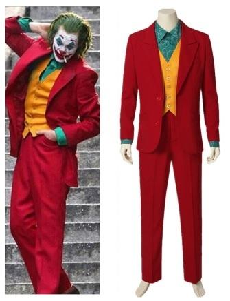 Джокер 2019 костюм красный