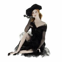 Кукла фарфоровая коллекционная Marigio Giuliana