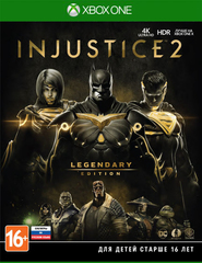 Xbox One Injustice 2. Legendary Edition (русские субтитры)