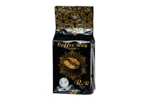 Арабский кофе Coffee Ray молотый с кардамоном темной обжарки, 200 г