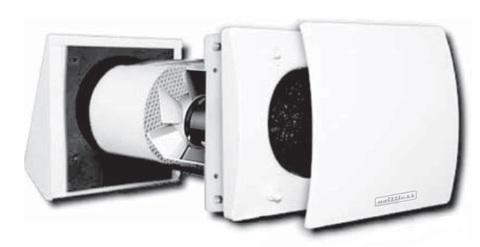 RX 100 Lite RLS  TC100 Децентрализованная приточно-вытяжная установка с регенерацией тепла и влаги