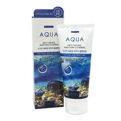 Jigott Natural Aqua Foam Cleansing - Очищающая увлажняющая пенка