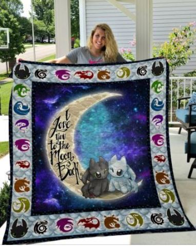 Как приручить дракона одеяло стеганое