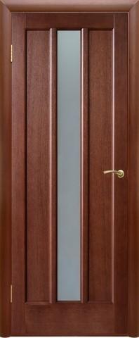 Дверь Двери Белоруссии Троя ПО, цвет тёмный орех, остекленная