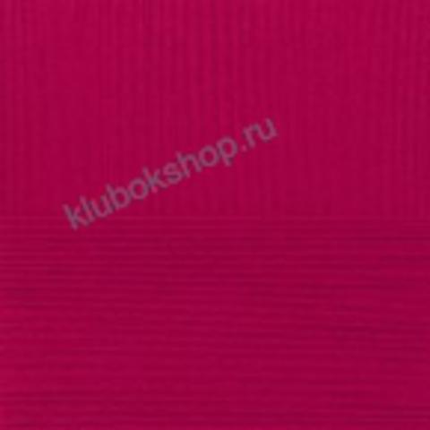 Пряжа Кружевная (Пехорка) цвет 159 Клюква
