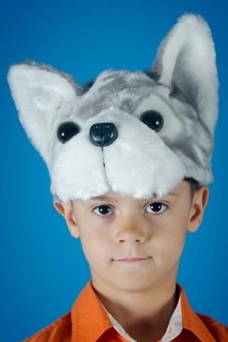 Карнавальная шапочка Волчонка