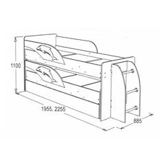 Двухъярусная кровать Омега 19