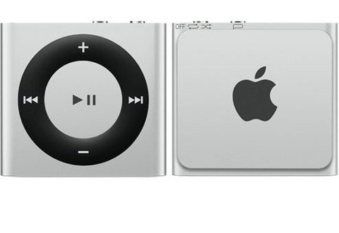 Apple iPod Shuffle 4 2Gb Silver купить в Перми