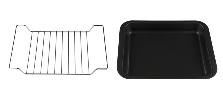 Противень для духовых шкафов с решеткой для гриля Candy KAG3701 32 x 24 x 6 см фото