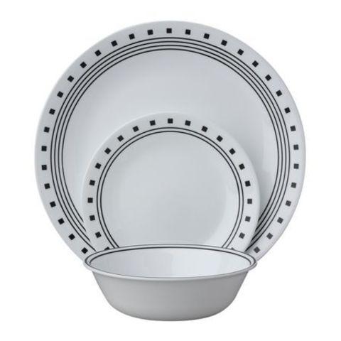 Набор посуды City Block 12 пр, артикул 1118130, производитель - Corelle