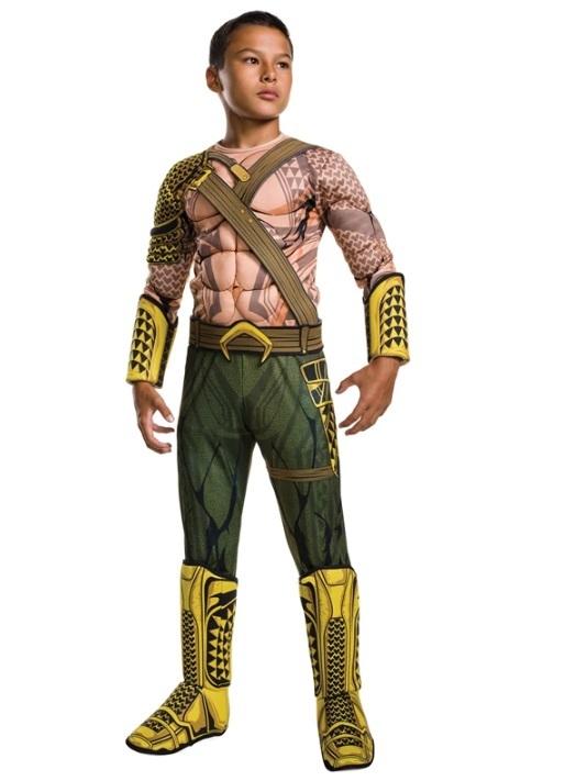 Лига Справедливости костюм детский Аквамен
