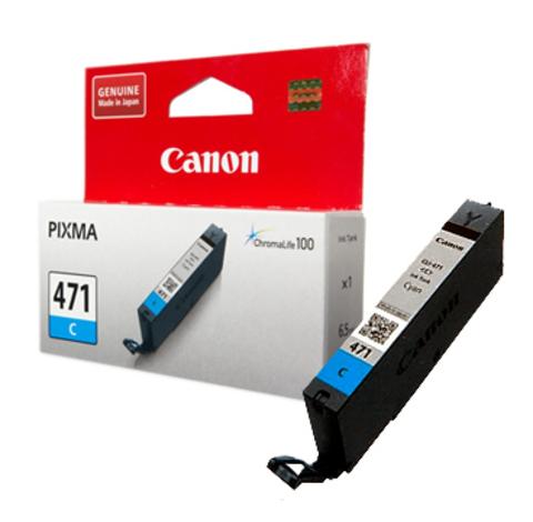 Картридж Canon CLI-471 C/0401C001