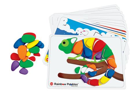 Набор Радужные камешки с карточками заданий А4, Edx education, арт. 13206