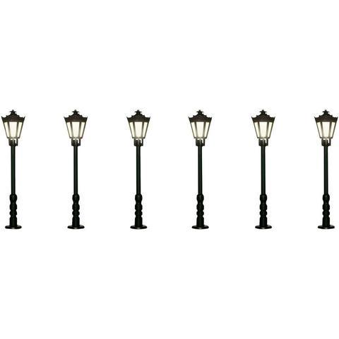 Viessmann 60706 Парковый фонарь,  6 шт., 1:87