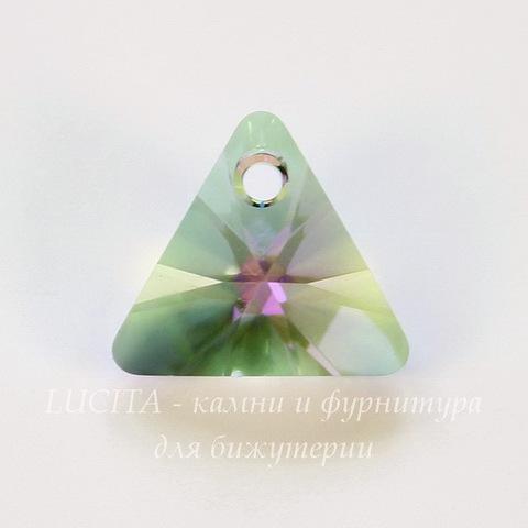 6628 Подвеска Сваровски Треугольник Crystal Paradise Shine (12 мм)