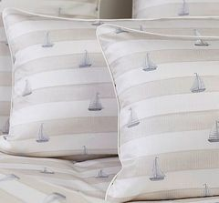 Постельное белье 1 спальное Elegante Portlane песочное