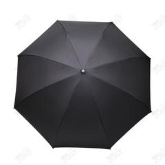 Умный зонт с обратным открыванием чёрная газета, механика