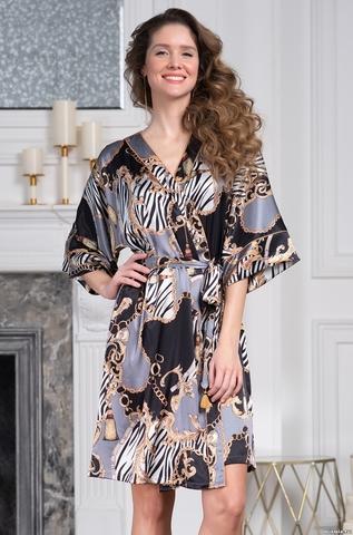 Короткий халат-кимоно Mia-Amore 8723