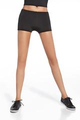 Короткие шорты для фитнеса черные