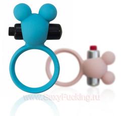 Эрекционное кольцо с вибрацией Emotions Minnie (d. 3 см)