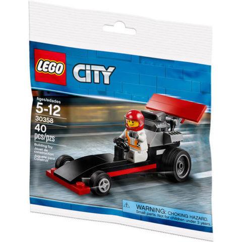 LEGO City: Драгстер 30358 — Dragster — Лего Сити Город