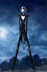 Постер Арт Кошмар перед Рождеством Джек Скеллингтон — Poster Art The Nightmare Before Christmas