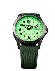 Швейцарские тактические часы Traser P67 OFFICER PRO  GUNMETAL  Lime 107424