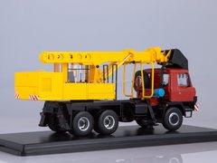 Tatra-815 excavator-planner UDS-114A 1:43 Start Scale Models (SSM)
