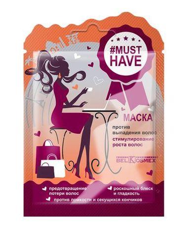 BelKosmex MUSTHAVE Маска для волос против выпадения стимулирование роста волос 25г