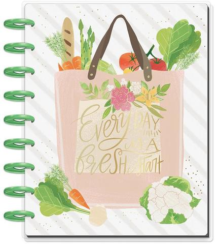 Книга для записи кулинарных рецептов - Classic Happy Planner® - Foodie (Recipe Organizer)- 19,3 х 24,3см.